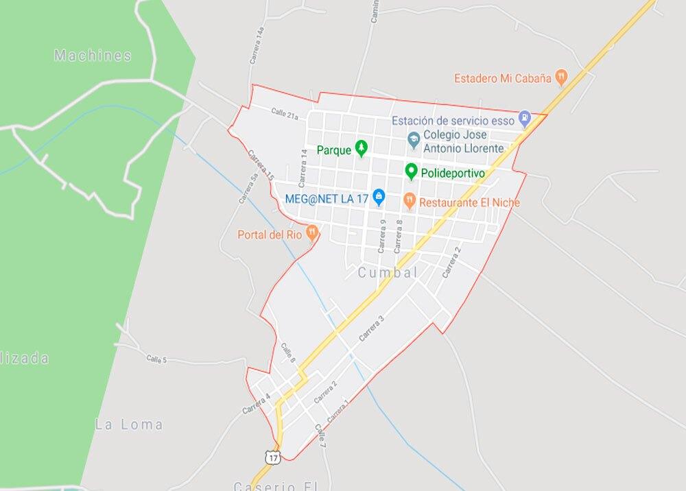 336449_BLU Radio. Municipio de Cumbal // Foto: Google Maps