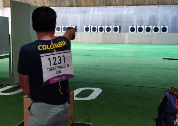 Bernardo Tobar Prado quedó eliminado en el tiro deportivo de los Juegos Olímpicos Tokio 2020.