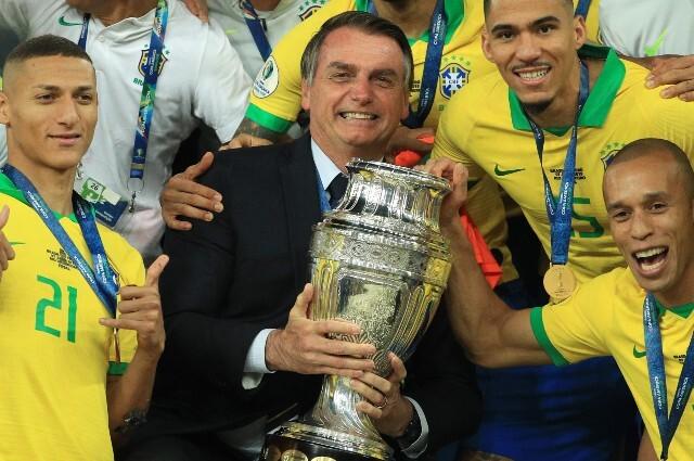 Gobierno de Brasil sobre la Copa América