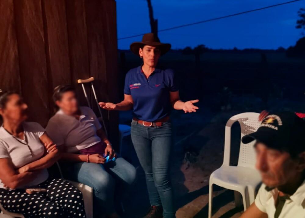 342909_BLU Radio // Diana Mendoza, candidata a Alcaldía en Meta // Foto: Facebook campaña Diana Mendoza