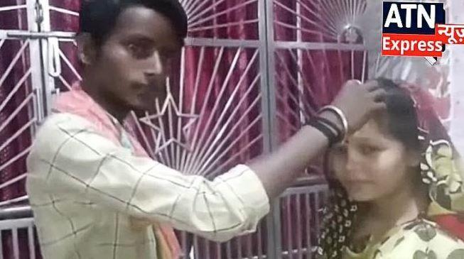 Uttam Mandal y  Sapna Kumari