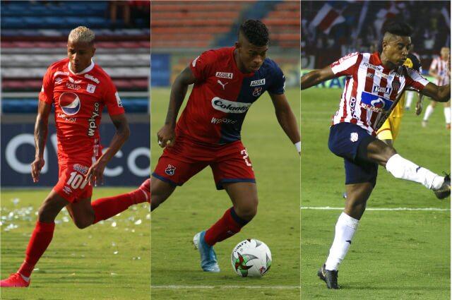 331996_América de Cali, Independiente Medellín y Junior de Barranquilla