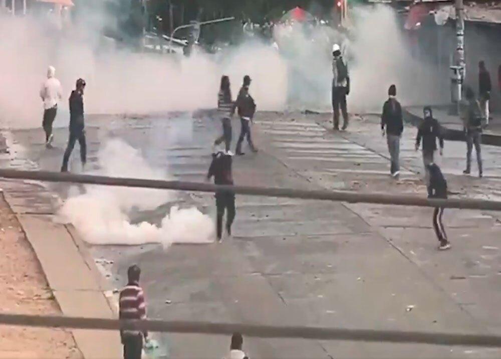 Protestas en Usme