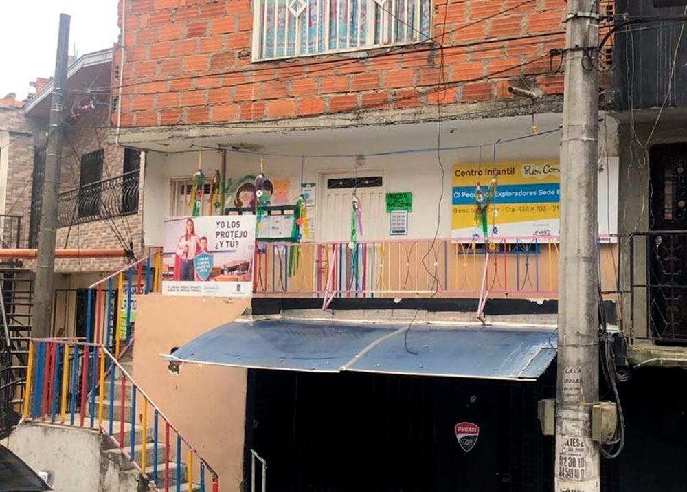 Jardín infantil de Medellín