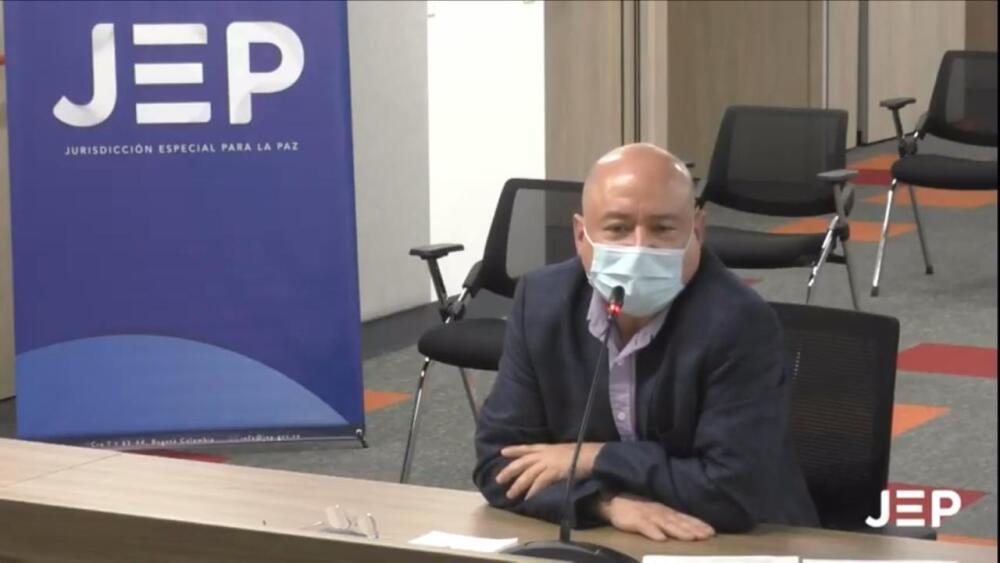 Carlos Antonio Lozada en la JEP. Foto JEP.jpeg