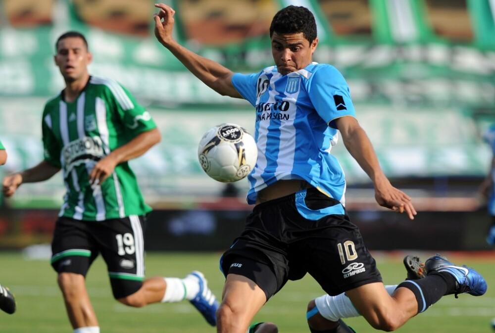 Giovanni Moreno, Racing vs Nacional