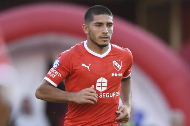 332867_Brian Martínez, delantero Independiente.