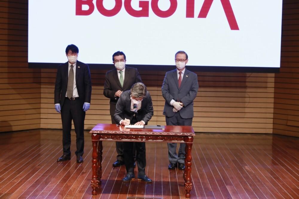 370500_COVID-19 en Bogotá: Corea del Sur donará recursos para hospital móvil en Engativá - Foto Alcaldía de Bogotá