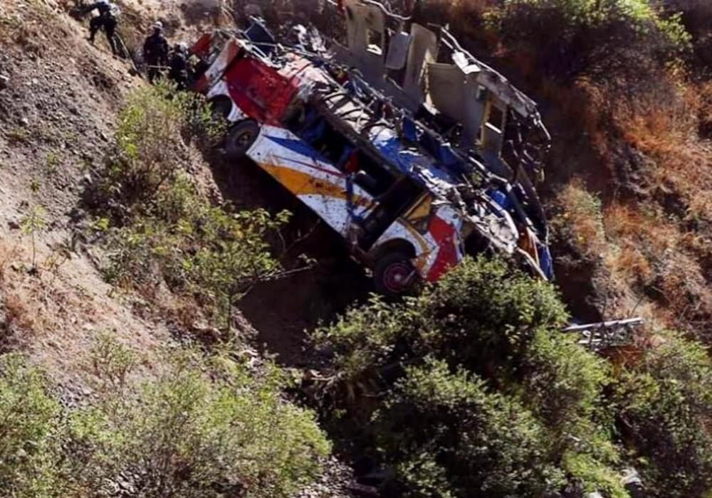 Accidente de bus en Perú