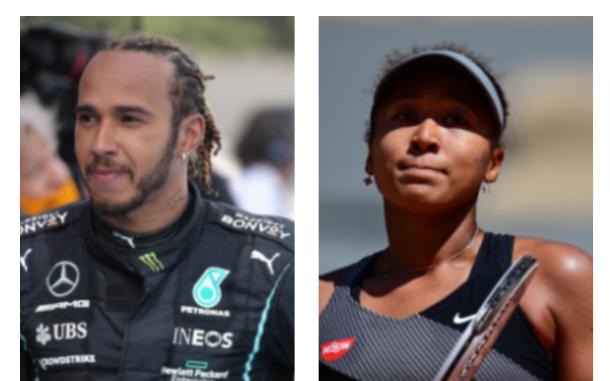 Lewis Hamilton habló del retiro de Naomi Osaka de Roland Garros.