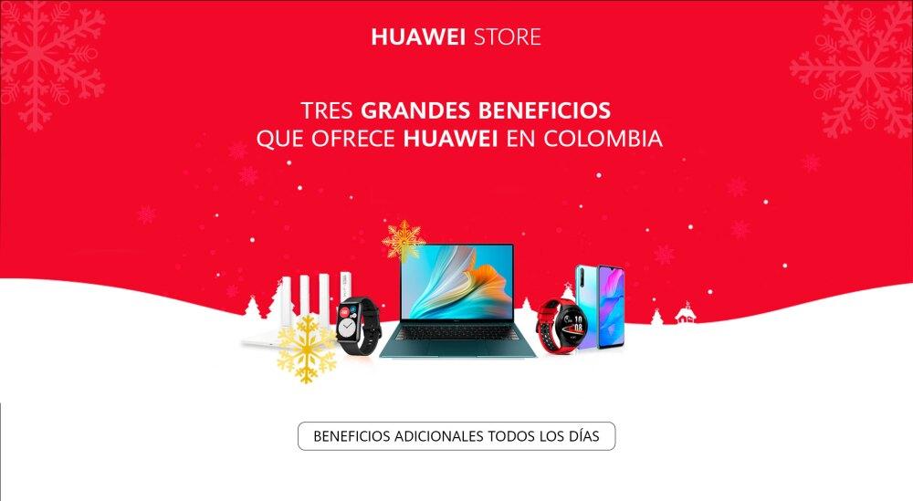 Beneficios que ofrece la tienda de Huawei