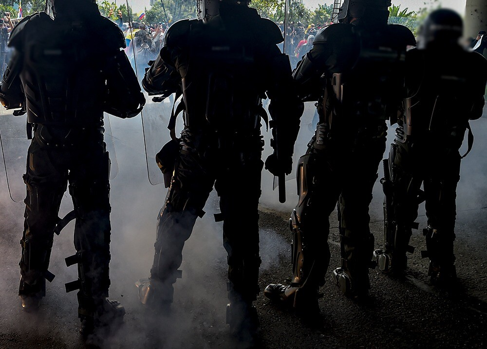 349274_BLU Radio// Esmad. Foto: AFP