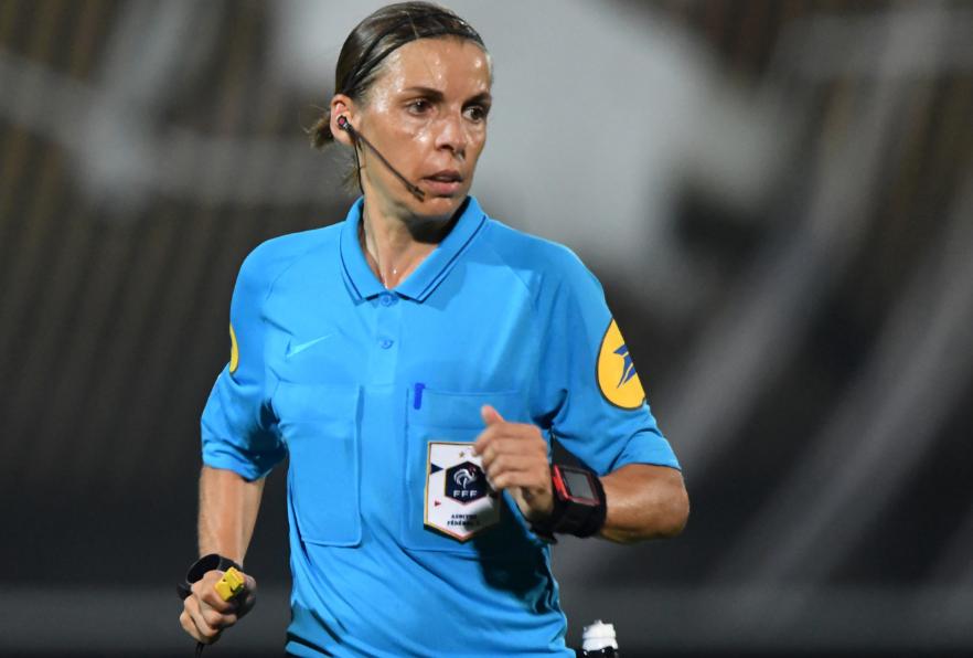 Stéphanie Frappart dirigirá Juventus y el Dinamo de Kiev.