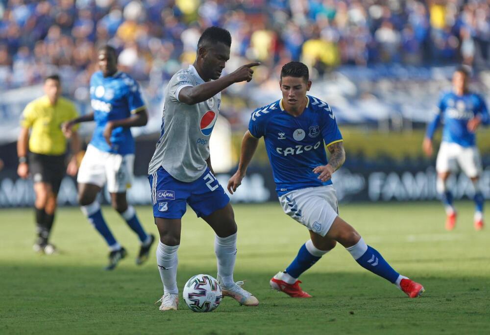 Everton vs Millonarios