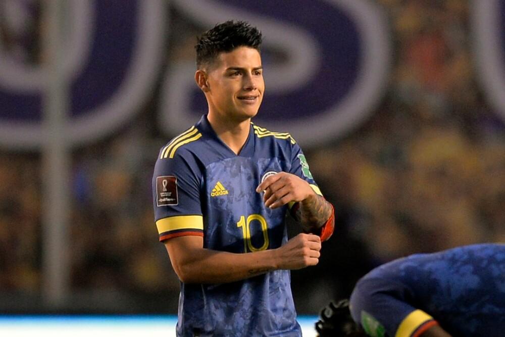 James Rodriguez Rubio jugador de la Selección Colombia