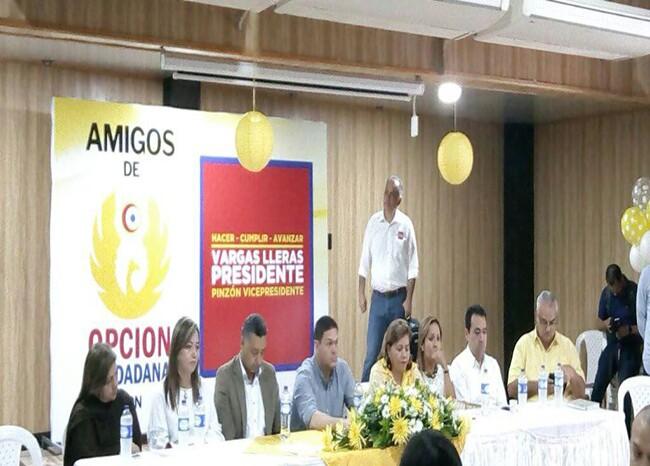 306805_BLU Radio. Apoyo de Opción Ciudadana a Vargas Lleras. / Foto Suministrada.jpg