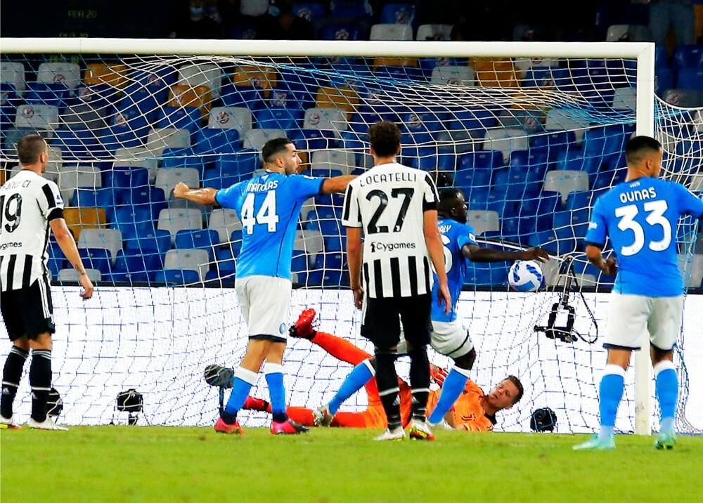 Nápoles le ganó a la Juventus Foto AFP.jpg