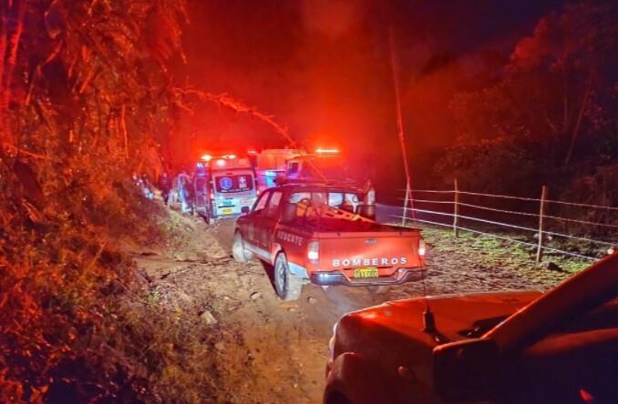 accidente en El Retiro, Antioquia