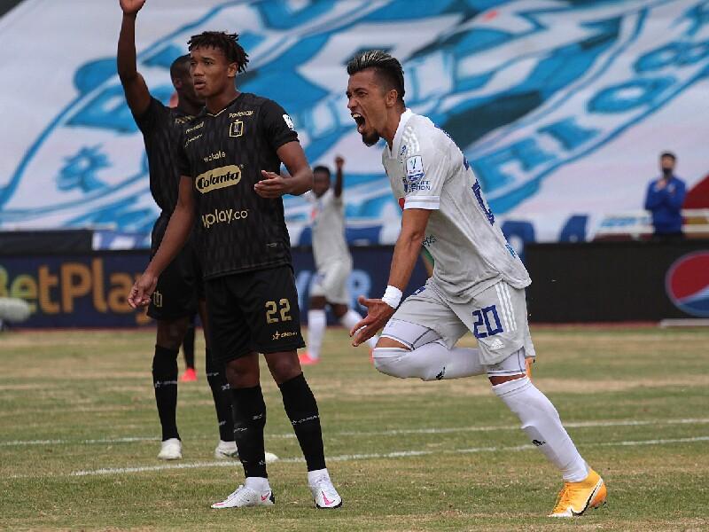 Fernando Uribe, jugador de Millonarios
