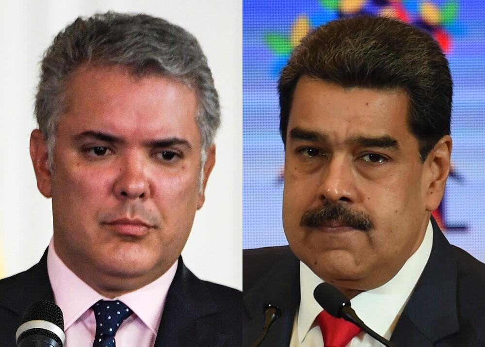 343153_BLU Radio // Iván Duque y Nicolás Maduro // Fotos: AFP