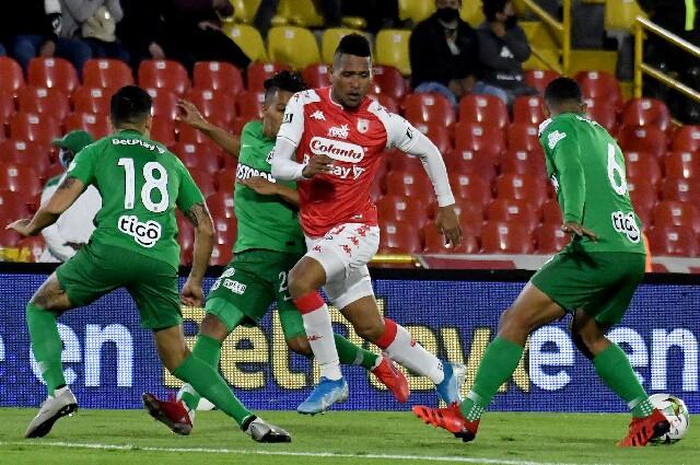 Santa Fe contra Nacional, en Copa Colombia