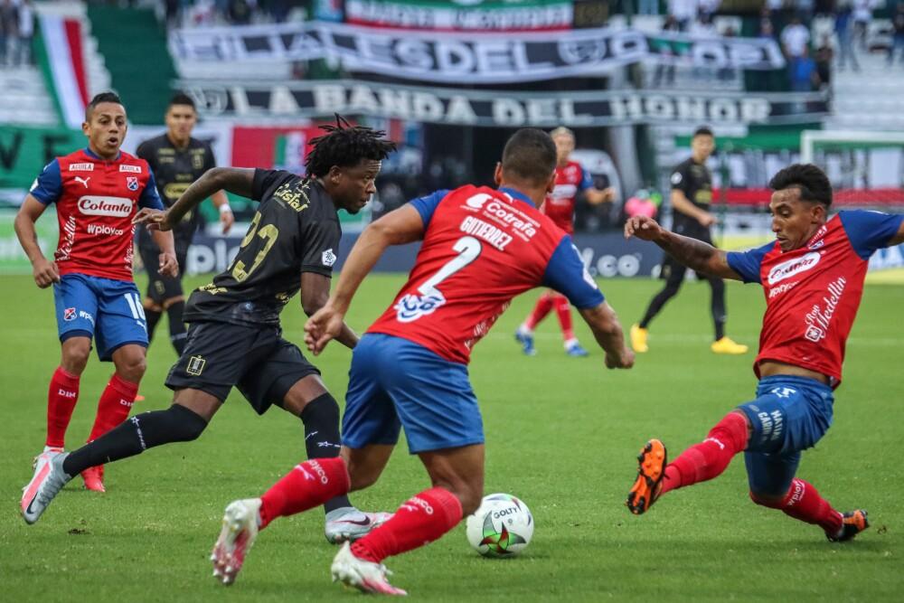 Independiente Medellín contra Once Caldas