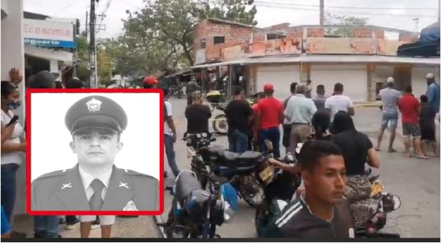 Asesinan patrullero en Caucasia, Antioquia