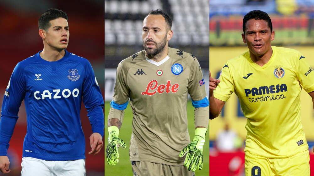 Futbolistas colombianos en el exterior