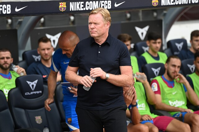 Ronald Koeman, director técnico del Fútbol Club Barcelona