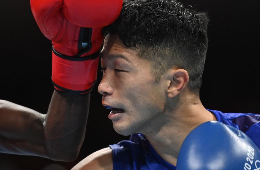 Ryomei Tanaka derrotó de forma polémica a Yuberjen Martínez en el boxeo de los Juegos Olímpicos Tokio 2020.