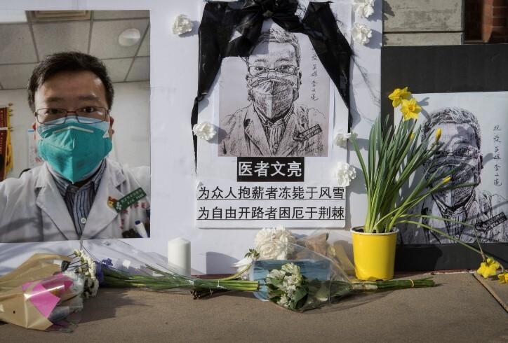 Li Wenliang medico  chino alertó sobre COVID