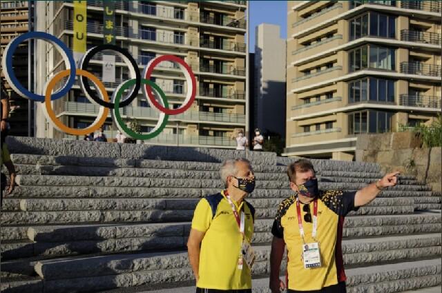 Villa olímpica de la delegación colombiana