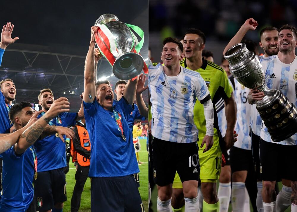 Italia y Argentina se enfrentarán Foto AFP.jpg