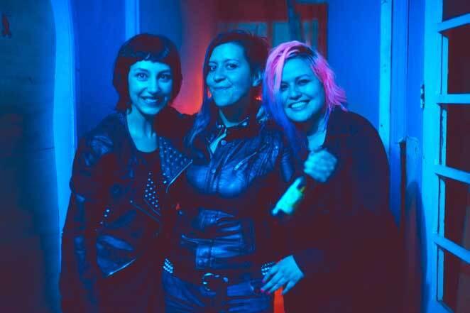 425059_De izquierda a derecha: Andrea Restrepo, Sandra Rojas y Paola Loaiza