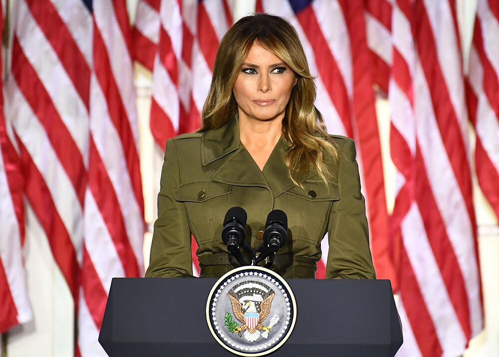 375547_Melania Trump // Foto: AFP