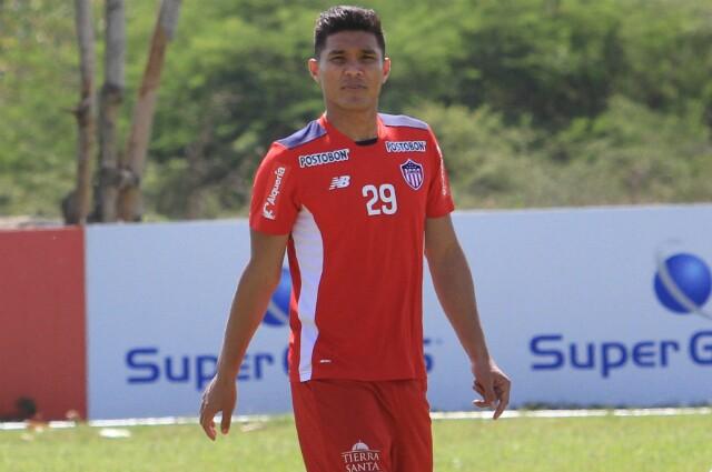 Teófilo Gutiérrez, jugador del Junior