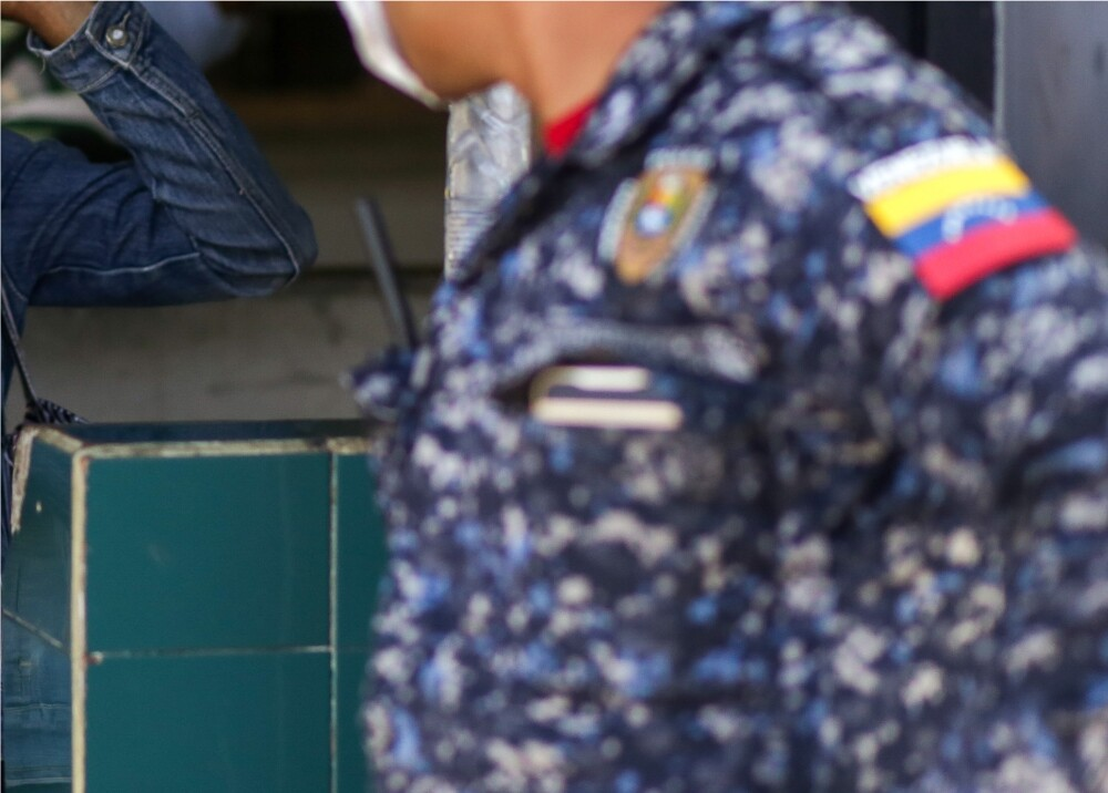 371319_Policía venezolana // Foto: AFP