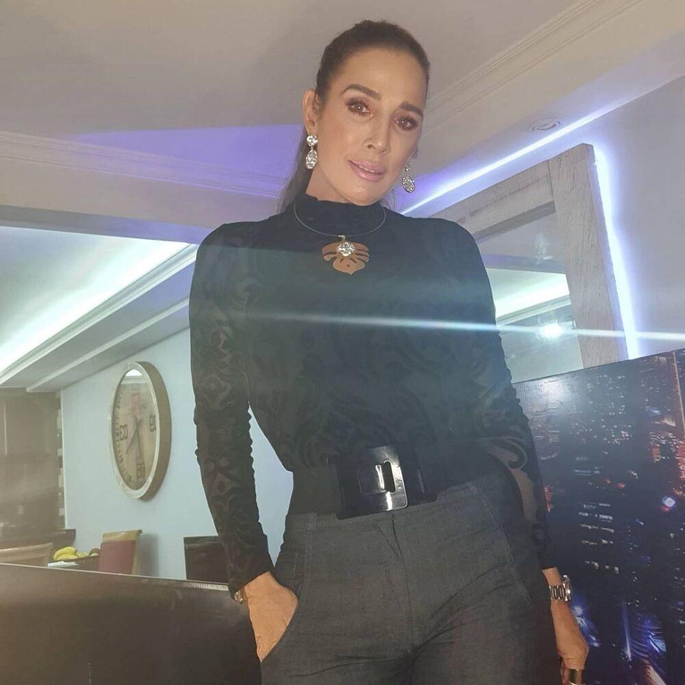 Luly Bossa, actriz colombiana que dio positivo para COVID-19..jpg