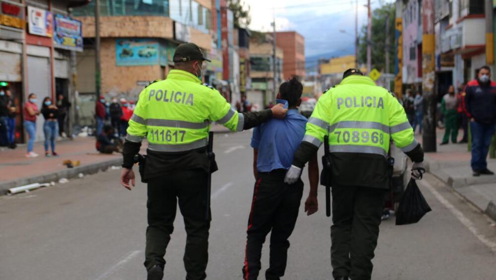 Hurto e inseguridad en localidades de Bogotá .jpg