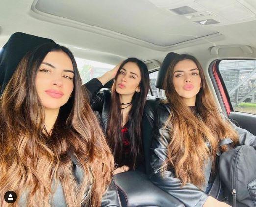 Jessica Cediel y sus hermanas.JPG