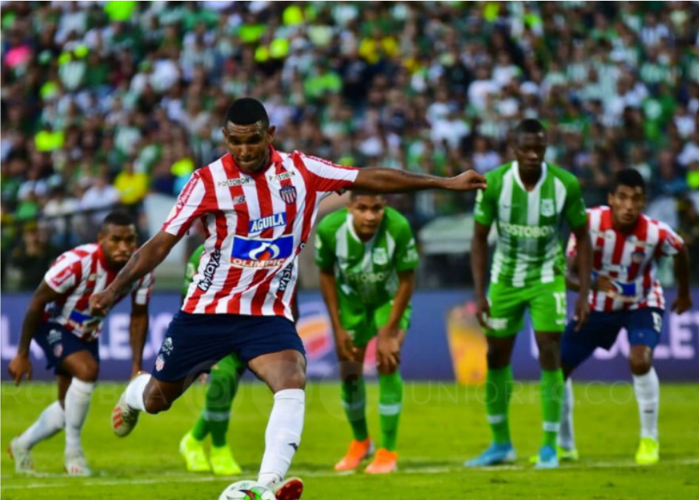 345206_BLU Radio. Club Junior FC vs Atlético Nacional / Foto Twitter: @JuniorClubSA