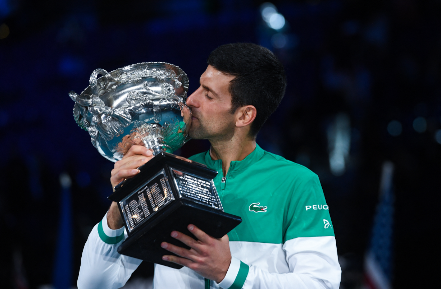 Novak Djokovic se coronó campeón del Abierto de Australia 2021.