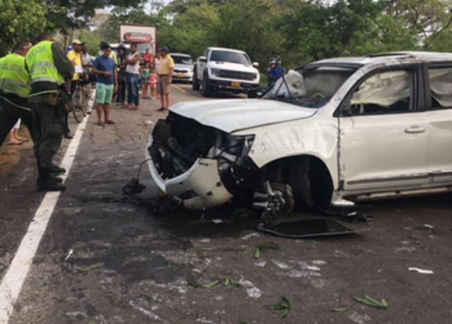 282286_BLU Radio. Accidente Martín Elías - Foto: Policía