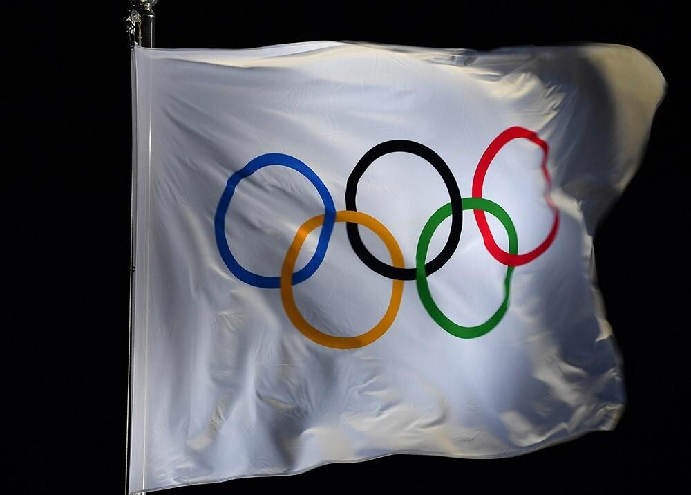 358693_Bandera de los olímpicos / Foto: AFP