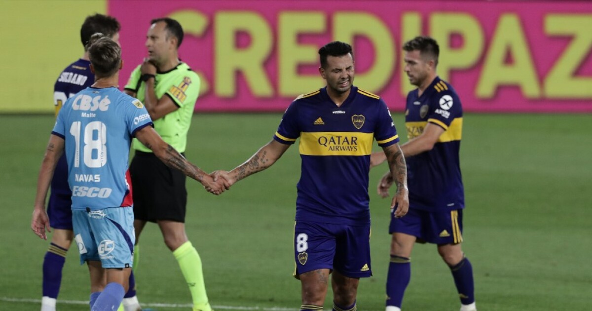 Edwin Cardona, único colombiano en empate 1-1 de Boca Juniors con Arsenal, en la Copa Diego Maradona