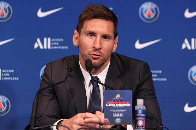 Lionel Messi, nuevo jugador del PSG
