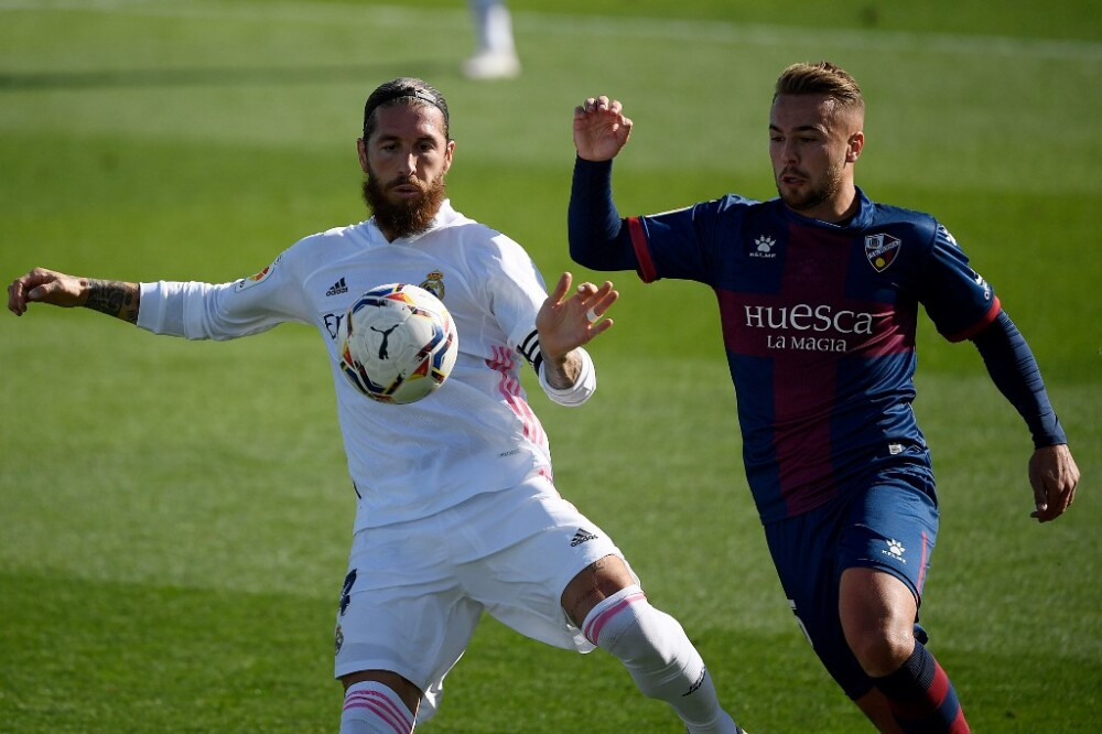 Sergio Ramos REAL MADRID-HUESCA