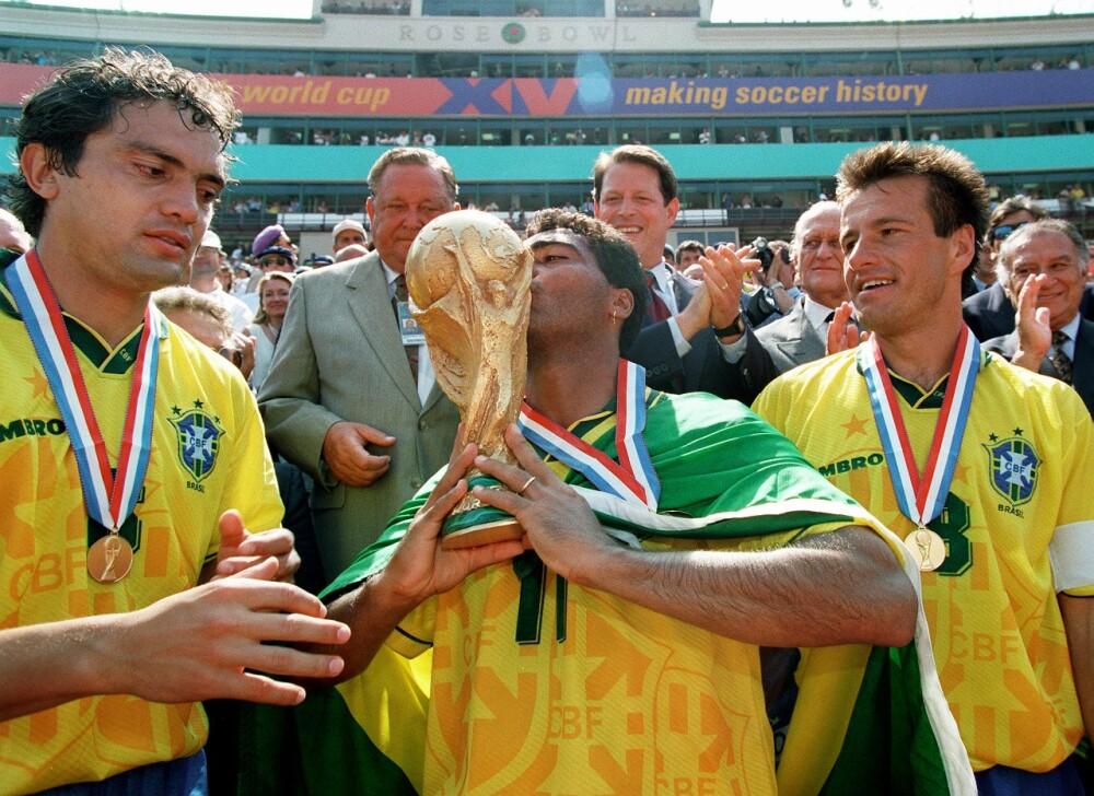 BRAZIL-ROMARIO-TROPHY