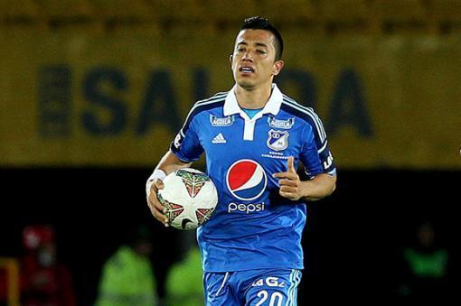 44509_Fernando Uribe - Millonarios. Foto: Efe