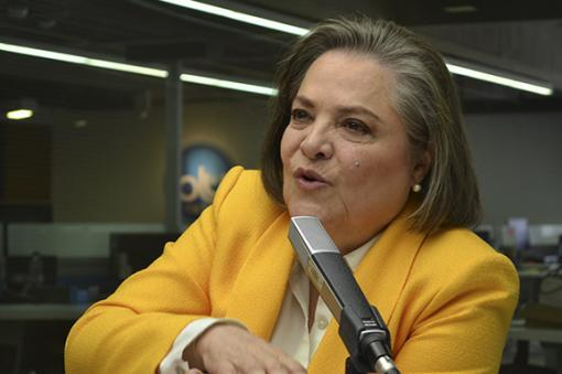 49525_BLU Radio. Clara López. Foto: Blu Radio